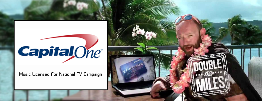 Capital One Bank Gnome national television commercial licensed Steel Buns through Alibi Music Library